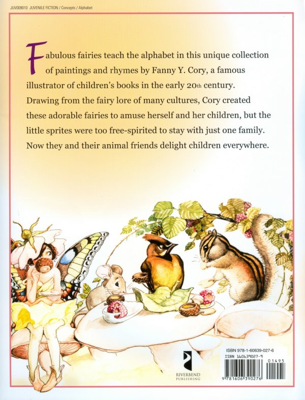 The Fairy Alphabet FY Cory Fairy-Chipmunk Back Cover