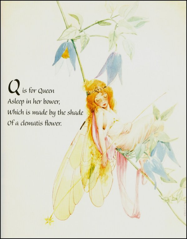 FY Cory Fairy Queen Bower Book